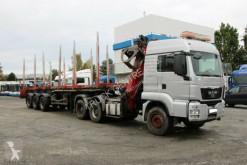 MAN Sattelzugmaschine TGS 33.480,6x4,CRANE PENZ 14 HL+STUBENBERGER S3G