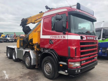 Voir les photos Tracteur Scania 164G-480 WITH FASSI F1000XP + FLY JIB + WINCH AND REMOTE CONTROL