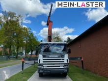Преглед на снимките Влекач Scania 124 C 400 PK 32080 2 m -6,7 t  bis 20 m + Funk