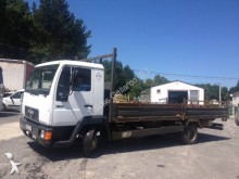 MAN 8.163 truck used flatbed