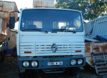 Camion Renault Gamme G dublu second-hand