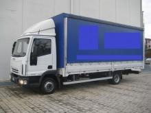 Camion Teloni scorrevoli (centinato) usato Iveco ML60E14 (Euro4 Klima)