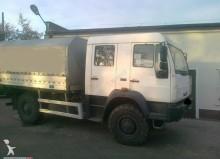 MAN ponyvával felszerelt plató teherautó LE 14.220 DOKA 4X4 BRYGADOWA