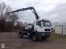 MAN hook arm system truck TGM 13.240