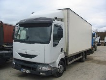 Renault Midlum 180 truck used plywood box