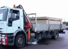 Iveco Eurotech 190E24 truck used standard flatbed