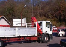 Used standard flatbed truck Iveco Eurotech 190E24