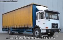 Camião caixa aberta com lona MAN 19.240