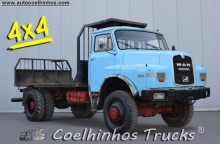MAN 16.192 HAK truck used flatbed
