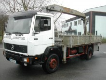 Used flatbed truck Mercedes 1317