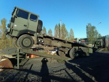 Renault TRM 10000 truck used flatbed