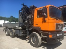MAN 27.403 truck used flatbed