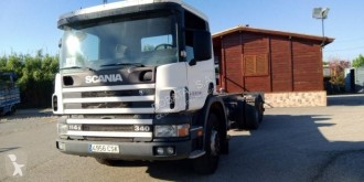 Camion Scania P114 GA 340 sasiu second-hand