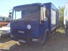 Camión Iveco Eurocargo 75 E 14 furgón transporte de bebidas usado