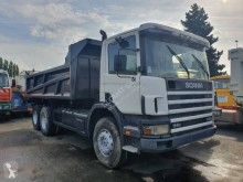 Scania two-way side tipper truck C 114C340
