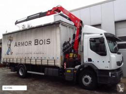 Camião Fassi RENAULT PREMIUM LANDER 410DXI F130 NEW cortinas deslizantes (plcd) usado