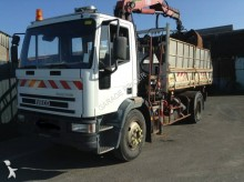 Camión Iveco Eurocargo 150 E 18 volquete usado