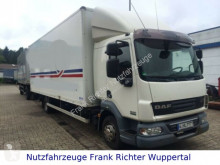 Camion fourgon DAF LF45/220grünePl.LBW, Gr.Haus,Tüvneu ,1Hd,dt.Fzg.