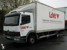 Used box truck Mercedes Atego 1215
