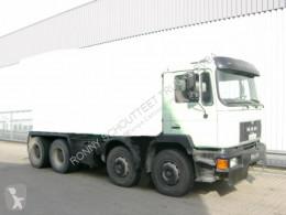 Camion MAN 33.292 - 8x4 Mischer Stetter 7m³ mit Pumpe Schwing 21m, 6-Zylinder béton toupie / Malaxeur occasion