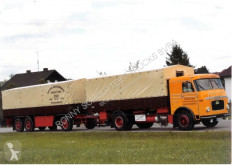 Camión remolque Camion remorque usado nc K 652 LF KAELBLE K652LF mit KÄSSBOHRER Anhänger, Wohnmobilausbau