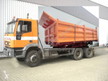 Three-way side tipper truck 260EH 34 6x4 eFH./Umweltplakette Rot