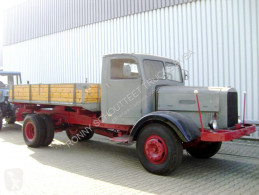 Three-way side tipper truck Kipper Oldtimer VEB BARKAS WERKE Oldtimer