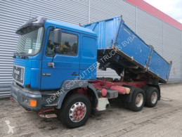 MAN 26.403 T39 6x4 Standheizung/Sitzhzg./Tempomat truck used three-way side tipper
