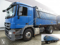 Mercedes Actros 1841L 4x2 1841L 4x2 Lück Getreidekipper, Retarder, MP3, 2x VORH.! truck used three-way side tipper