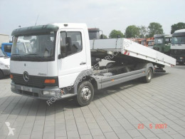 Camion Mercedes Atego 817L 4x2 Umweltplakette Rot cassone usato