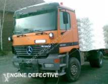 Camion telaio incidentato Mercedes Actros 1848AK 4x4 Standheizung/Klima/Tempomat