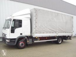 Iveco ponyvával felszerelt plató teherautó Eurocargo 120E24 4x2 Standheizung/NSW/Radio