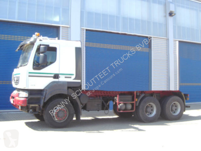 Voir les photos Camion Renault Kerax 450.26 6x6 Standheizung/Klima/Tempomat/NSW