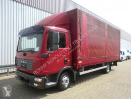 Camion plateau occasion MAN TGL 8.210 BL 4x2 Standheizung/Klima/Tempomat/NS