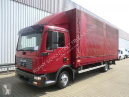 Camion MAN TGL 8.210 BL 4x2 Standheizung/Klima/Tempomat/NS plateau occasion