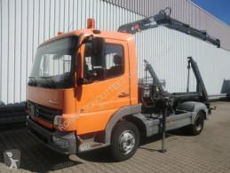 Mercedes skip truck Atego 918K 4x2 918K 4x2 mit Kran Hiab 066