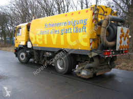 MAN T31 4x2 Standheizung/eFH. used sewer cleaner truck