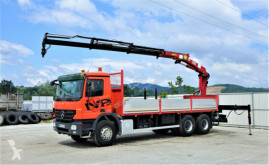 Camion Mercedes Actros 2632 Pritsche 6,75 m+KRAN/FUNK* 6x4! plateau occasion