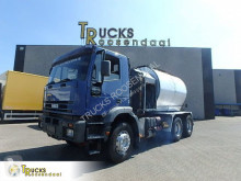 Iveco concrete mixer truck 260E30 + Bitume + steel + MANUAL + pump