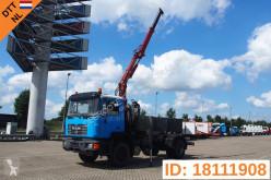 MAN 18.284 LKW gebrauchter Abrollkipper