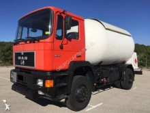 MAN truck used gas tanker