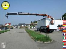 MAN tarp truck TGA 26.350 6x2-2 LL Kran Atlas 165.2E- A3 Edscha