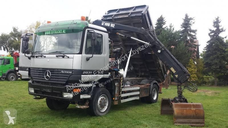 Voir les photos Camion Mercedes Actros 2031