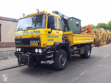 DAF 240 truck used three-way side tipper