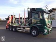 Camion trasporto tronchi Mercedes Arocs 2651 L 6x4 + Holztransporter