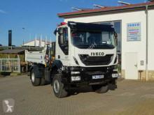 Camion Iveco AD190T33W 4x4 Kipper + Kran Fassi F120 + Funk benne neuf