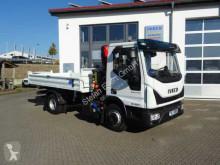 Camion benne Iveco Eurocargo ML80E22 Kipper + Kran Fassi F40 +Funk