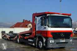 camion Mercedes Actros 1844 Autotranspor + Anhänger Lohr