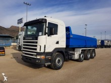 Scania R124 420 truck used tipper