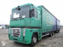 Kamion s návěsem posuvné závěsy Renault Magnum 460